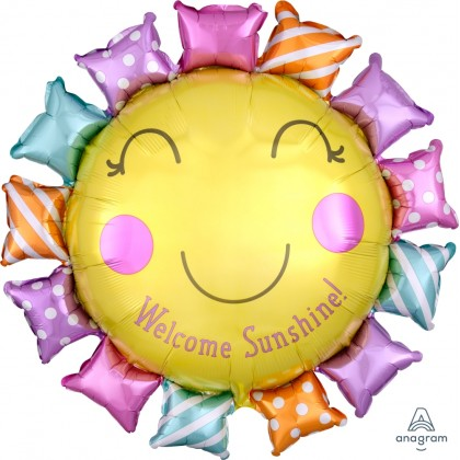"P30 27"" Welcome Sunshine Baby SuperShape™ XL®"