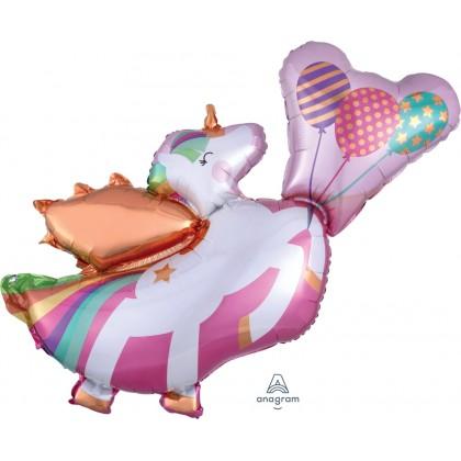 """P35 34"""" Winged Unicorn SuperShape™ XL®"""
