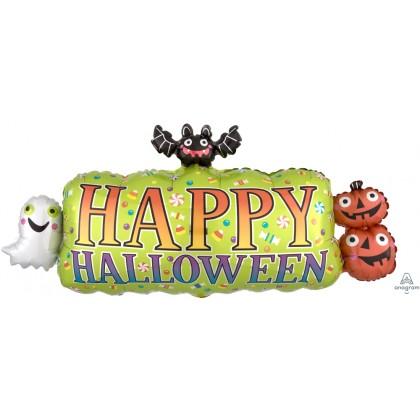 "P50 36"" Halloween Banner  SuperShape™ XL®"