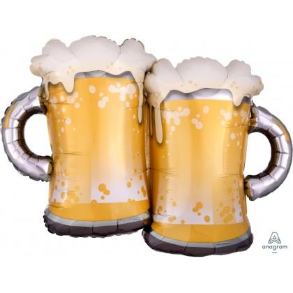 """P35 32"""" Beer Mugs SuperShape™ XL®"""