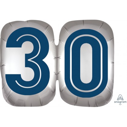 "P35 25"" Happy Birthday Man 30 SuperShape™ XL®"