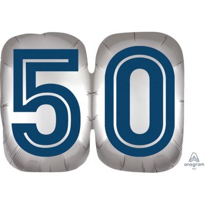 "P35 25"" Happy Birthday Man 50 SuperShape™ XL®"