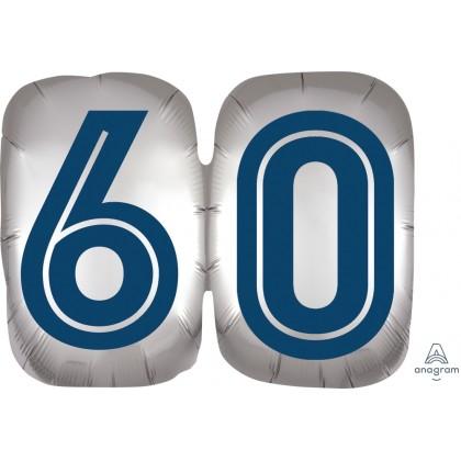 "P35 25"" Happy Birthday Man 60 SuperShape™ XL®"
