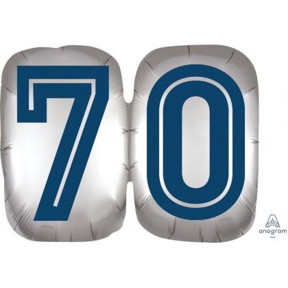 "P35 25"" Happy Birthday Man 70 SuperShape™ XL®"