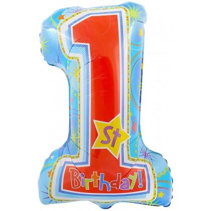 """P30 28"""" One-derful Birthday Boy SuperShape™ XL®"""