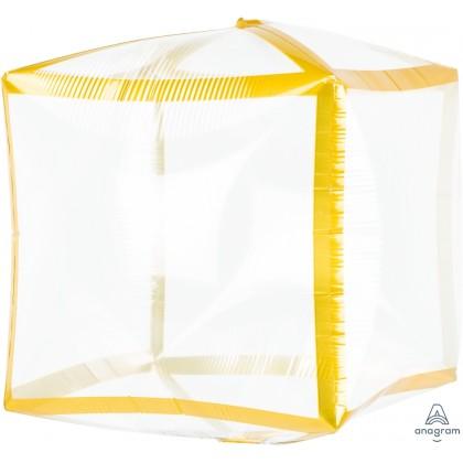 "G20 15"" Gold Trim Cubez™ UltraShape® Clear Cubez®"
