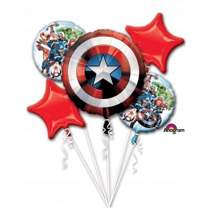 P75 Avengers Shield Bouquet