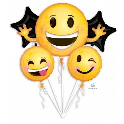 P75  Emoticon Smiles Bouquet