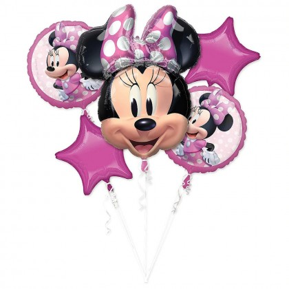 P75  Minnie Mouse Forever Bouquet