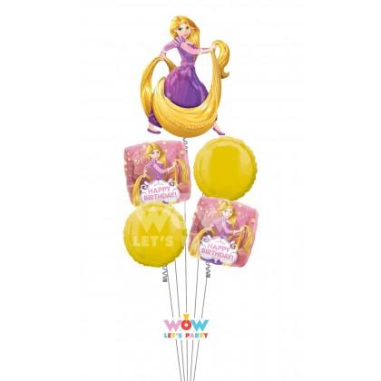 P75  Rapunzel Happy Birthday Bouquet
