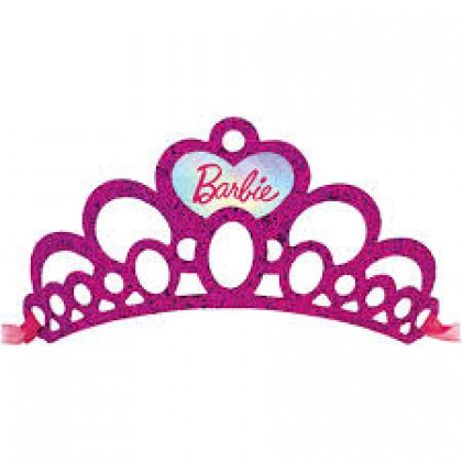Barbie Mermaid Glitter Paper Tiaras