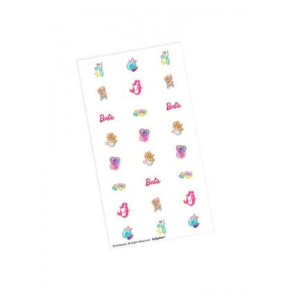Barbie Mermaid Nail Decal Favor Kits