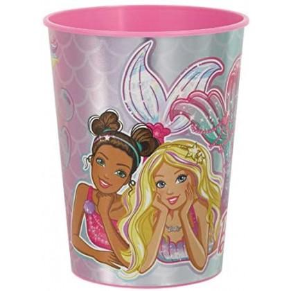 Barbie Mermaid Metallic Favor Cup - Plastic