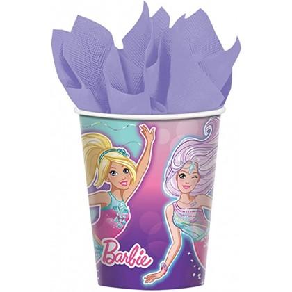 Barbie Mermaid Cups, 9 oz