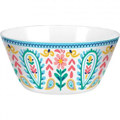 Boho Vibes Salad Bowl Melamine