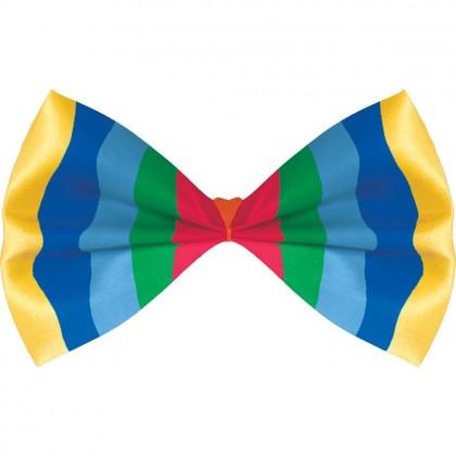 "3 1/4"" x 6"" Bow Ties Rainbow"