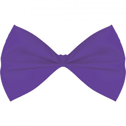 "3 1/4"" x 6"" Bow Ties Purple"