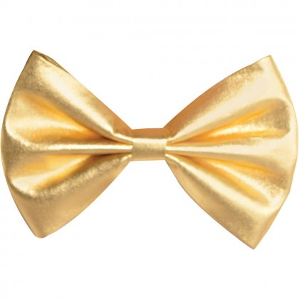 """3 1/4"""" x 6"""" Bow Ties Gold"""