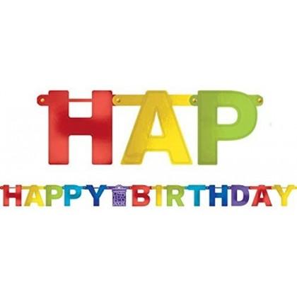 Bright Birthday Bright Birthday Large Letter Banner - Foil
