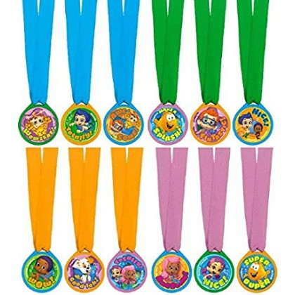 Bubble Guppies™ Party Mini Award Medals