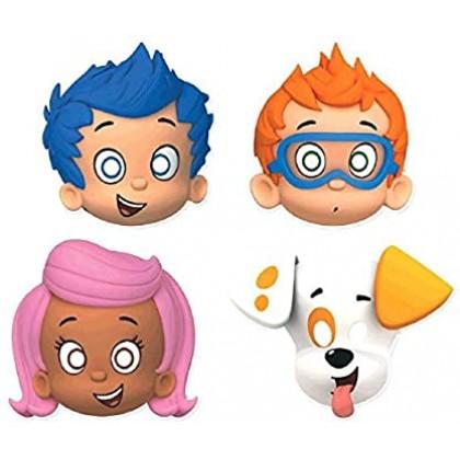 Bubble Guppies™ Masks - Paper