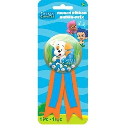 Bubble Guppies™ Party Confetti Pouch Award Ribbon