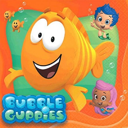 Bubble Guppies™ Party Luncheon Napkins