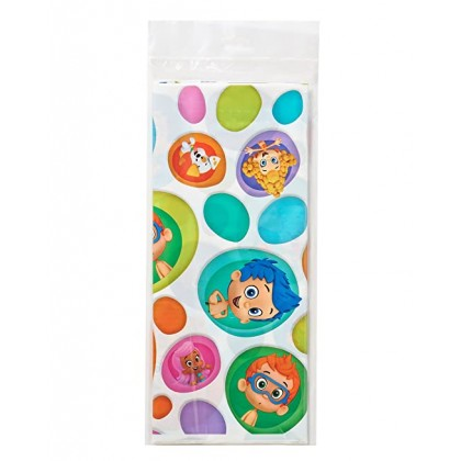 Bubble Guppies™ Plastic Table Cover