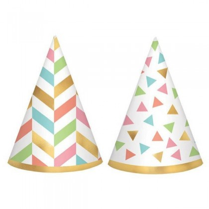 Confetti Fun Mini Cone Hat