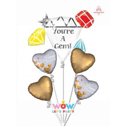 You're A Gem Anniversary Bouquet