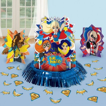 DC Super Hero Girls™ Table Decorating Kit