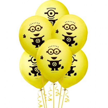 Despicable Me™  Printed Latex Balloons -  Asst. Designs