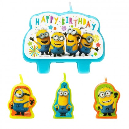 Despicable Me™ Birthday Candle Set