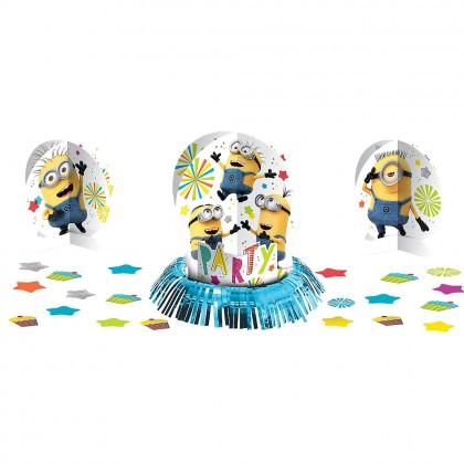 Despicable Me™  Table Decoration Kit - Paper & Foil Fringe
