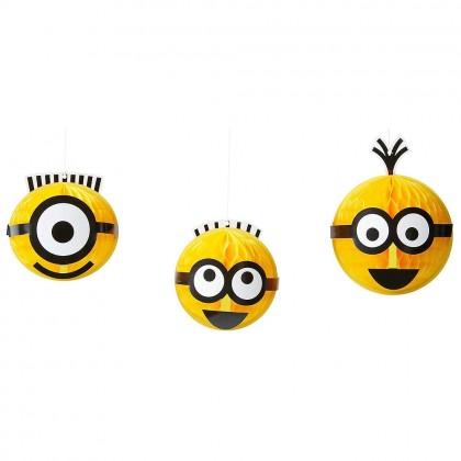 Despicable Me™ Honeycomb Decorations
