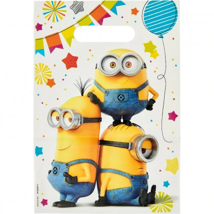 Despicable Me™  Folded Loot Bags - Plastic