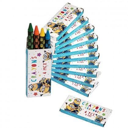 Despicable Me Crayon Favors
