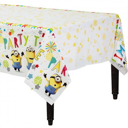 Despicable Me Plastic Table Cover