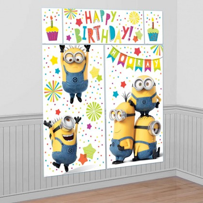 Despicable Me™  Scene Setters Wall Decorating Kit - Plastic