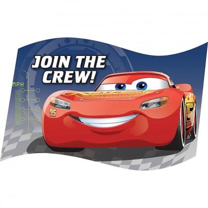 Disney Pixar Cars 3 Postcard Invitations