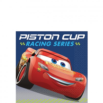 Disney Pixar Cars 3 Beverage Napkins