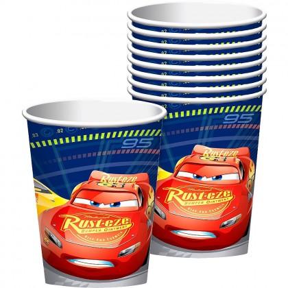 Disney Pixar Cars 3 Cups 9 oz