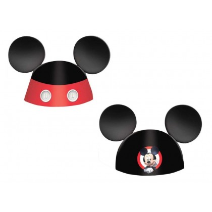 Disney Mickey On The Go Ears Cone Hats D C Paper