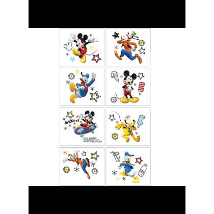 Disney Mickey On The Go Tattoo Favors