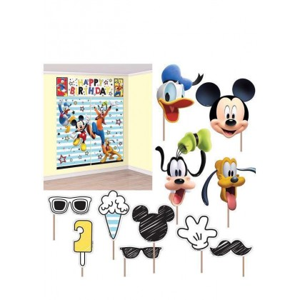 Disney Mickey On The Go Scene Setters w Props