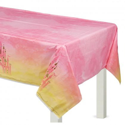 ©Disney Princess Once Upon A Time Plastic Table Cover