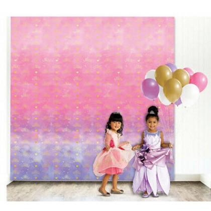©Disney Princess Once Upon A Time Photo Backdrop - Plastic