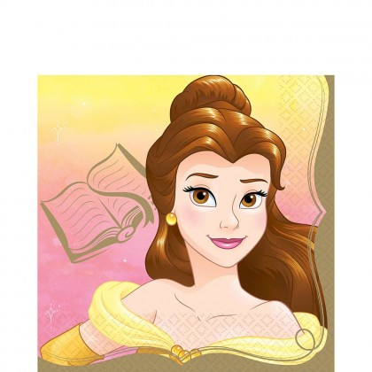 ©Disney Princess Once Upon A Time Luncheon Napkins - Belle