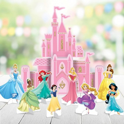 ©Disney Princess Once Upon A Time Table Decorating Kit - Paper w/Glitter