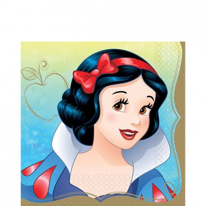 ©Disney Princess Once Upon A Time Luncheon Napkins - Snow White